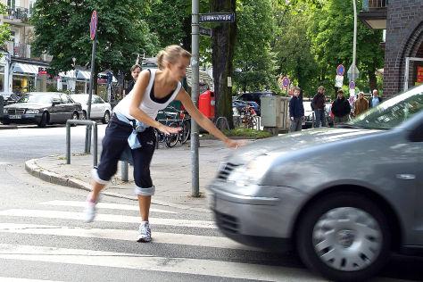 Versager beim Fußgängerschutz