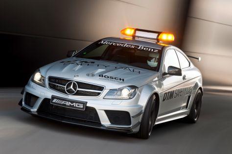 DTM Safety Car: Mercedes C 63 AMG Coupé Black Series