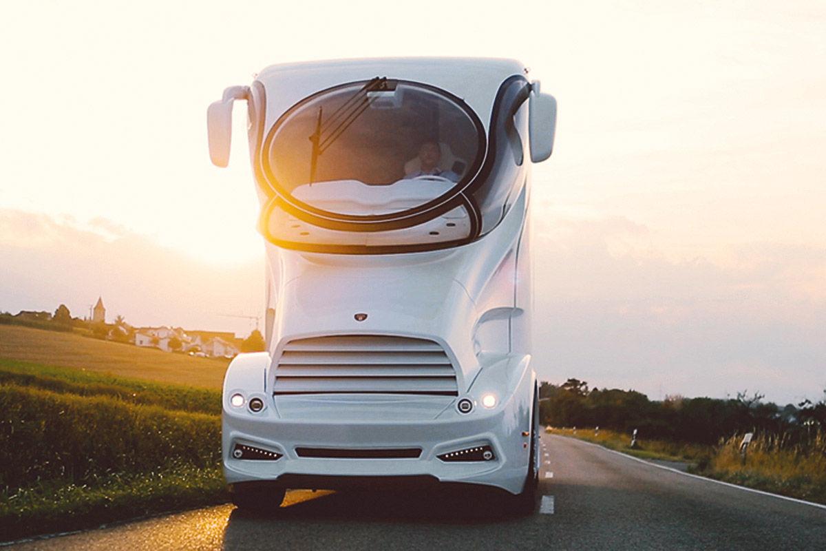 luxusbus von marchi mobile bilder. Black Bedroom Furniture Sets. Home Design Ideas