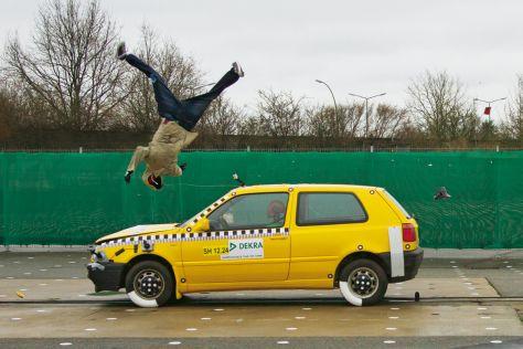 Fußgänger-Crashtest