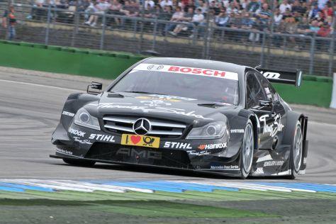 Garry Paffet auf Mercedes siegt bei der DTM Hockenheimring 2012