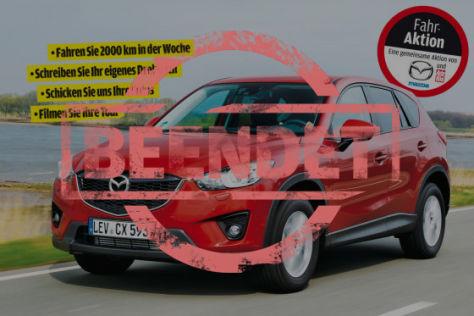 Mazda Partneraktion: 40.000 Kilometer mit dem Mazda CX-5