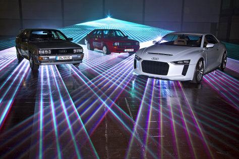 Audi Quattro, Audi Sport Quattro, Audi Quattro Concept