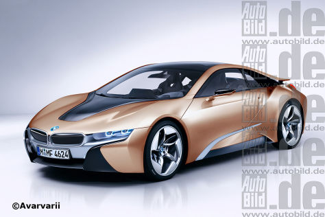 BMW i8 (Illustration)