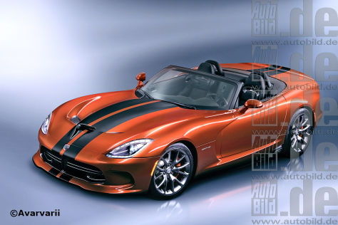 Dodge Viper Roadster (Illustration)