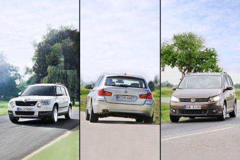 Kombi, Van oder SUV?