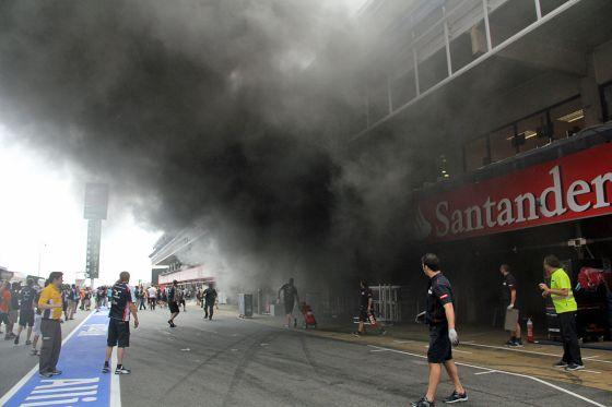 F1 GP Spanien 2012