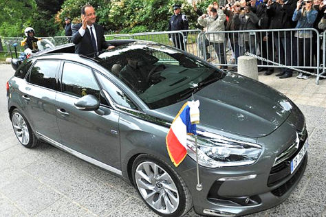 Citroën DS5 von Francois Hollande
