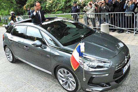 Citroën DS5 von Francois Hollande