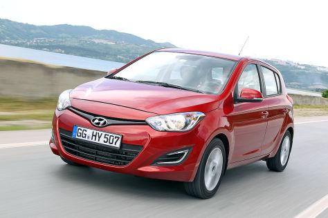 Hyundai i20 blue 1.1 CRDI: Fahrbericht