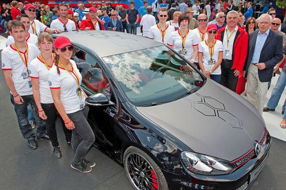 VW-Azubis tunen Golf GTI