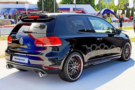 VW Golf GTI Black Dynamic: Wörthersee