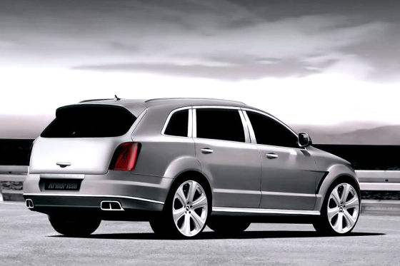 Q7 spielt Bentley