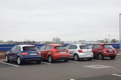Audi A1 Ford Fiesta Toyota Yaris VW Polo