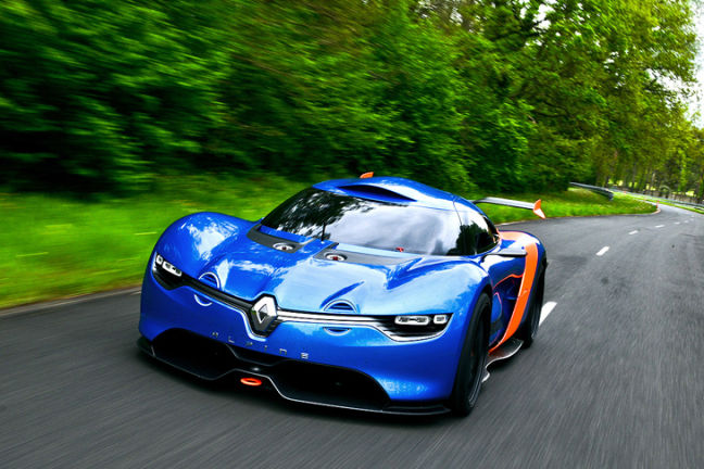 Video: Alpine A110-50 Concept