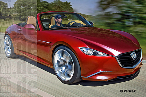 Mazda MX-5 Illustration