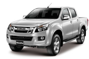 Isuzu D-Max auf der AMI 2012