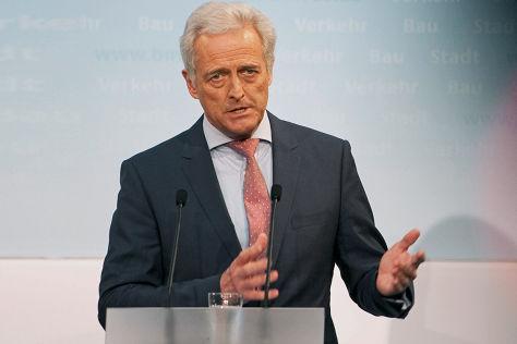 PR-Minster Peter Ramsauer