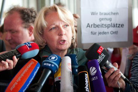 Hannelore Kraft in Bochum