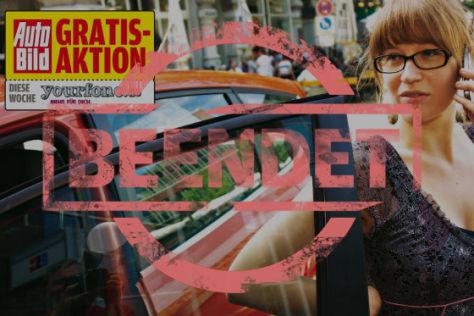 AUTO BILD Gratis-Aktion: Einen Monat gratis telefonieren und surfen