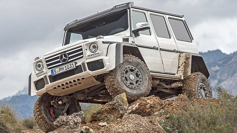 Mercedes G 4x4² Mercedes G 4x4²
