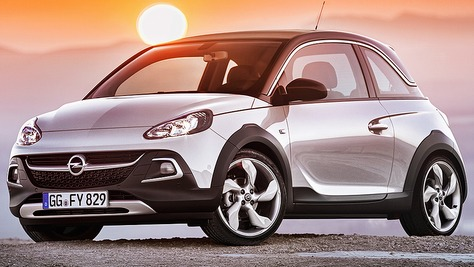 Opel Adam Rocks Opel Adam Rocks