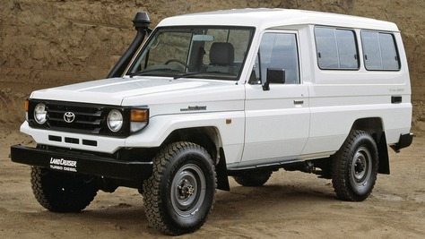Toyota Land Cruiser - J7