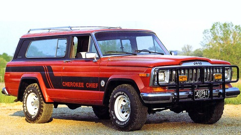 Jeep Cherokee - SJ