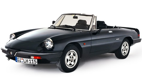 Alfa Romeo Spider - Aerodinamica