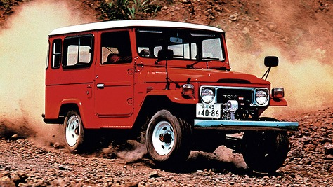 Toyota Land Cruiser - J4
