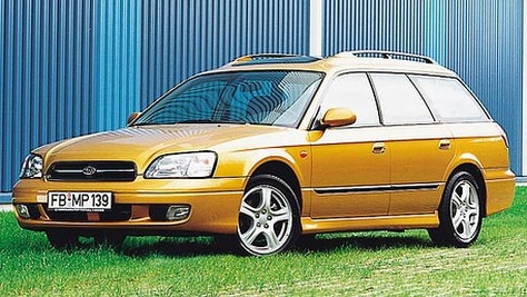 Subaru Legacy - BE/BH