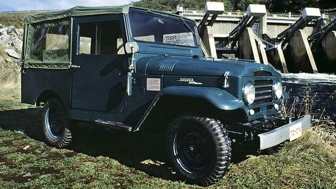 Toyota Land Cruiser - J2/J3
