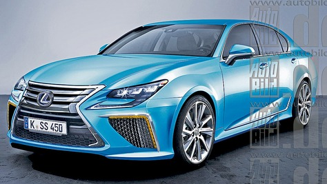 Lexus LS - V