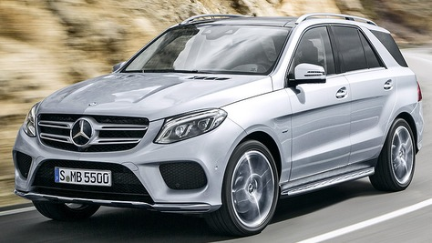 Mercedes gle for Mercedes benz modelle