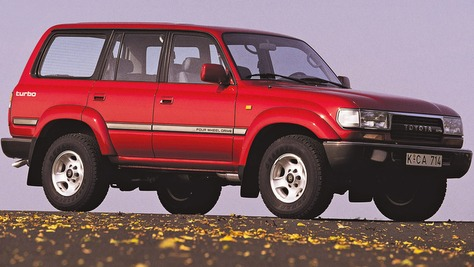Toyota Land Cruiser - J8