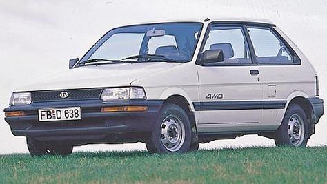 Subaru Justy - I KAD