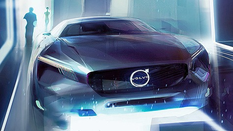 Volvo E-Auto