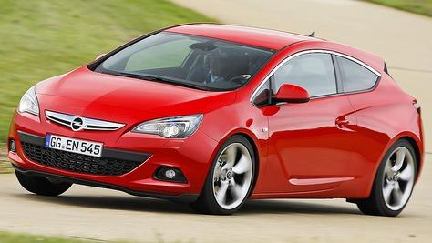 Opel Astra GTC - J