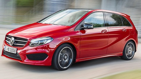 Mercedes b klasse for Benz sport katalog