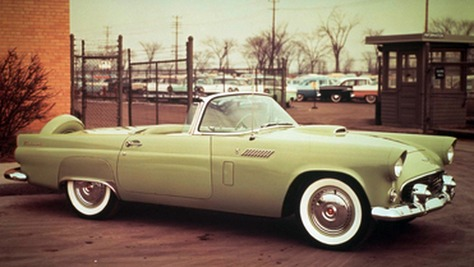 Ford Thunderbird - Square Birds
