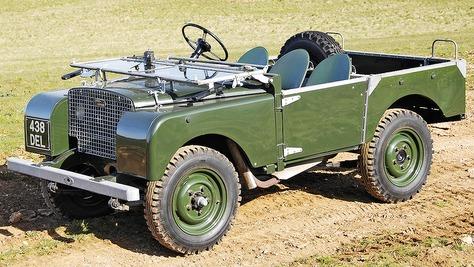 Land Rover Defender - I