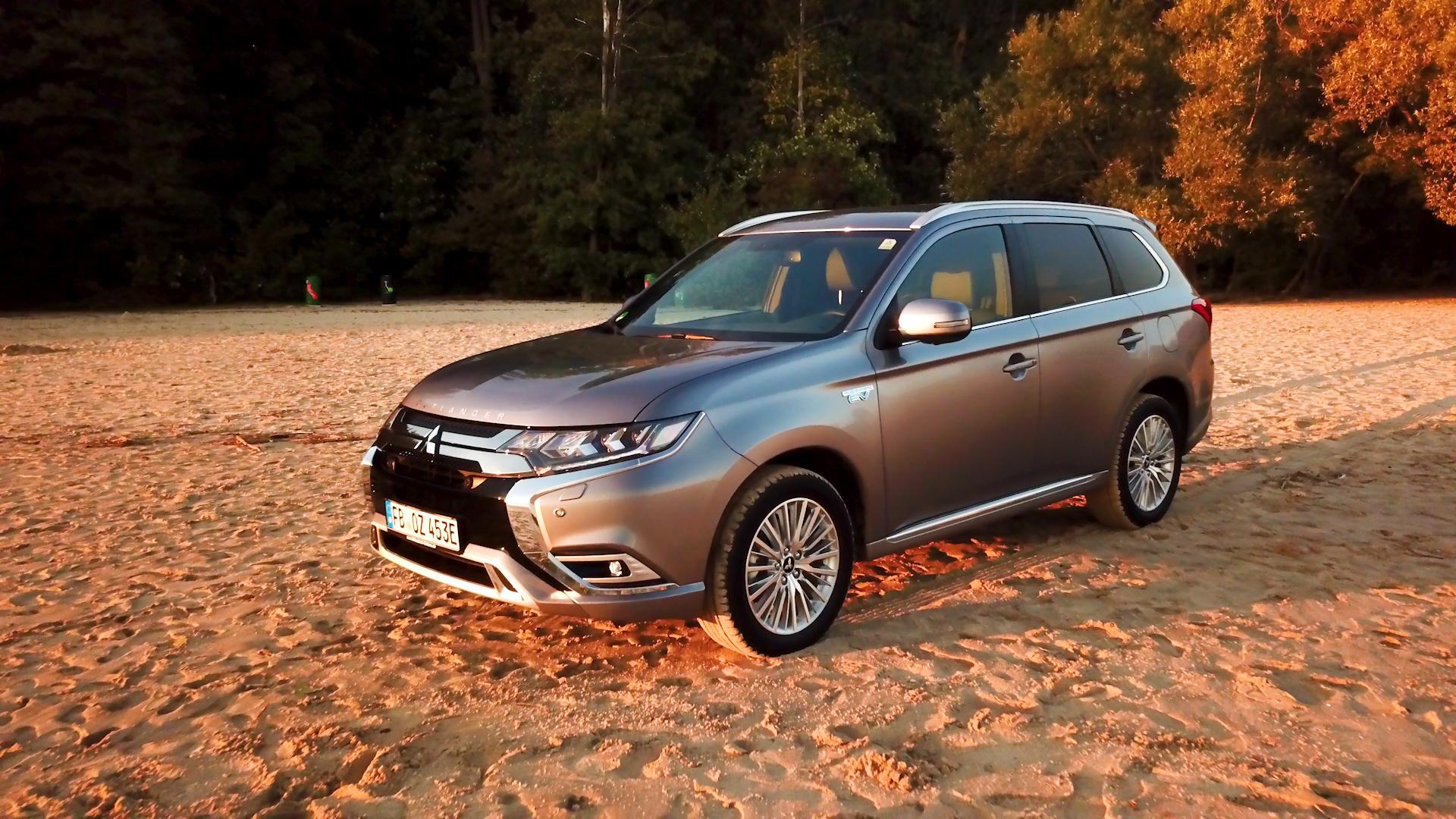 Mitsubishi Outlander Plug In Hybrid Im Praxistest