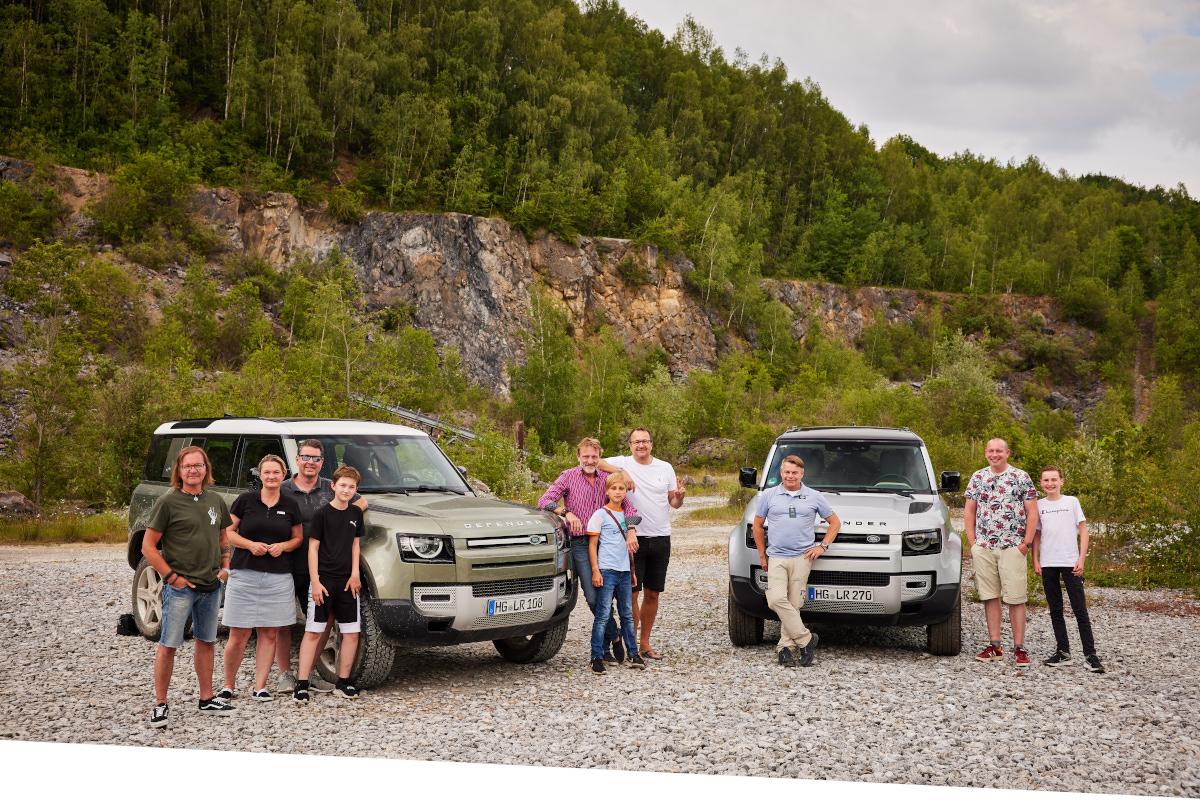 Offroad-Abenteuer im neuen Land Rover Defender