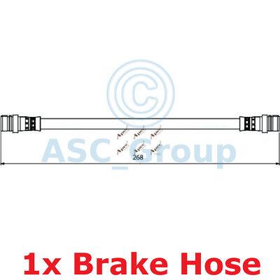 Apec BRAKING 268mm Bremsscheiben Bremssattel Flexible Gummi Schlauch HOS3945