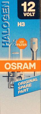 OSRAM H3 55 Watt 12 Volt PKW 64151 Auto Lampe Licht PK22s Birne 55W