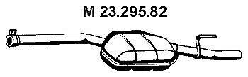 Eberspächer | Mittelschalldämpfer (23.295.82) für MERCEDES E-KLASSE W210