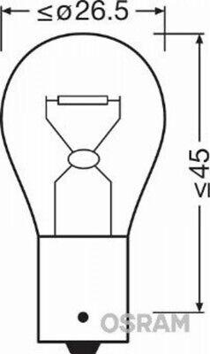 Osram 7506-02B Glühlampe Blinkleuchte für BMW MERCEDES BENZ AUDI