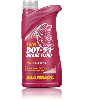 Bremsflüssigkeit DOT 5.1 MANNOL 455 Gramm für ABS ESP ISO 4925 SAE J1704 1703