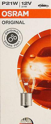 OSRAM 10 Stück P21W 21 Watt 12 Volt 7506 Licht BA15s Autolampe Leuchte Birne