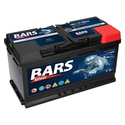 Autobatterie BARS 12V 100Ah Starterbatterie WARTUNGSFREI TOP ANGEBOT NEU